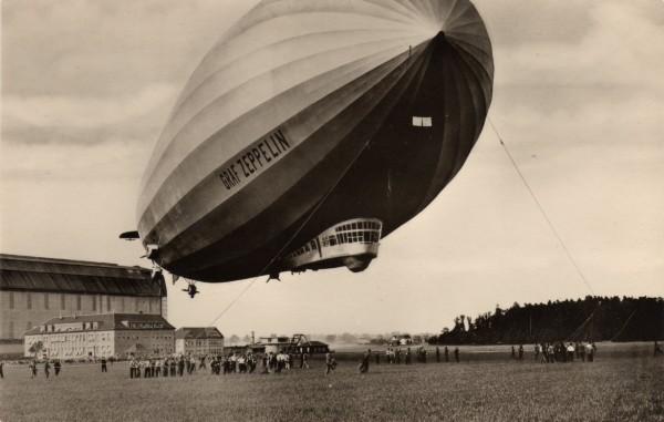 Niemiecki sterowiec Graf Zeppelin
