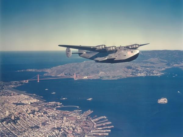 Boeing 314 Clipper linii Pan American