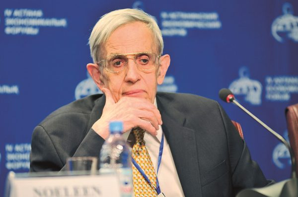 John Nash (fot.  Economicforum/Wikimedia Commons)