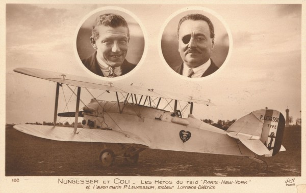 Należący do Charlesa Nunggessera oraz Raymonda Coli samolot Levasseur PL 8