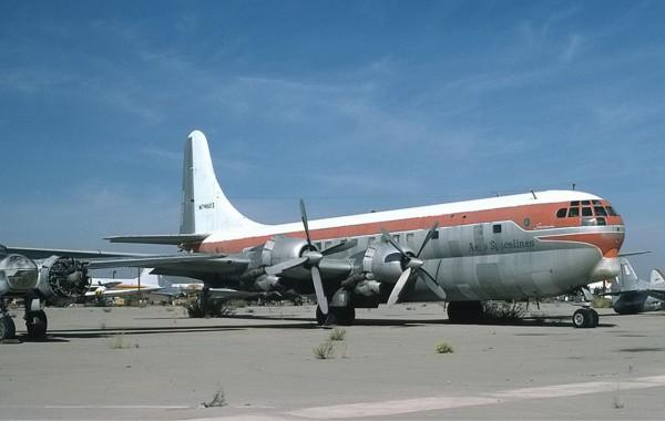 Boeing C-97 Stratofreighter (fot. Richard Vandervord)