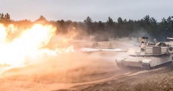 Abramsy na Łotwie - zdjęcia