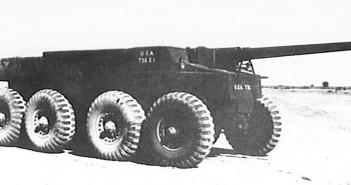 Cook Interceptor - kołowe niszczyciele czołgów T55