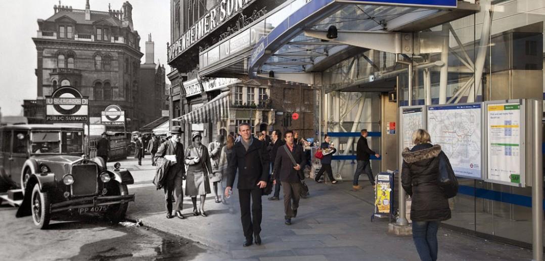 Londyn dawniej i dziś - zdjęcia