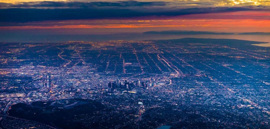 Niesamowite zdjęcia lotnicze Los Angeles