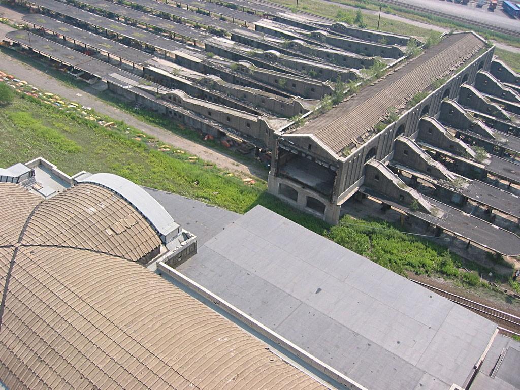 Perony Buffalo Central Terminal współcześnie (fot. Dpunaro/Wikimedia Commons)