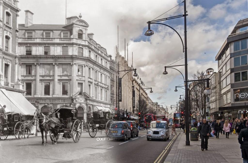 Oxford Street na przełomie wieków