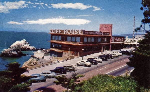 Cliff House w 1941 roku