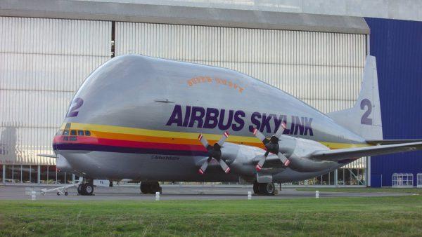 Aero Spacelines Super Guppy (fot. Pinpin/Wikimedia Commons)