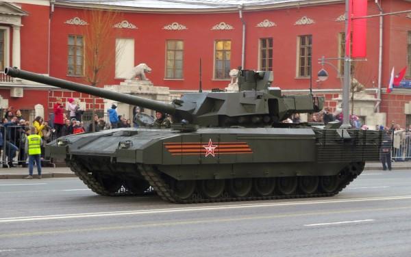 Czołg Armata T-14 (fot. Leo1/forums.spacebattles.com)