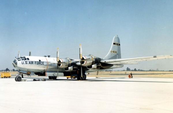 Boeing WB-50D (fot. USAF)