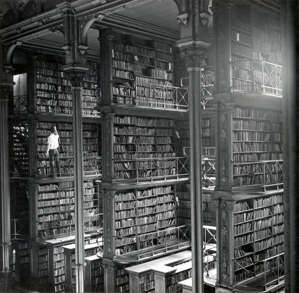 Najsłynniejsze zdjęcie wnętrza biblioteki publicznej w Cincinnati