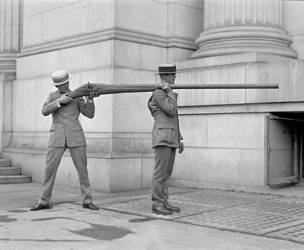 Chyba najsłynniejsze zdjęcie Punt gun