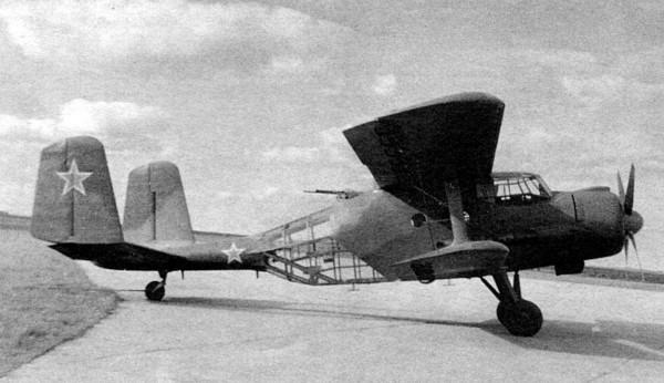 Jeden z wielu prototypowych An-2