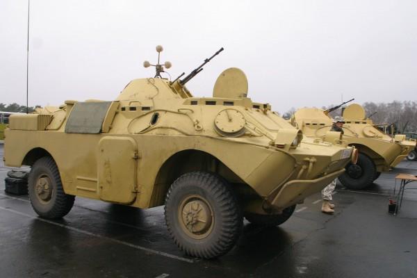 Polskie BRDM-2 w Iraku