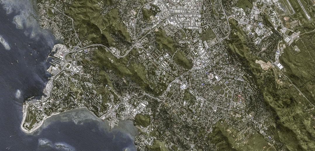 Port Moresby w obiektywie satelity