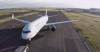 Lotnisko w obiektywie drona