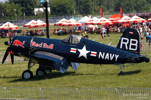 Red Bull F-4U Corsair