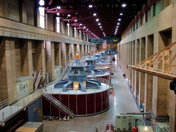 Turbiny elektrowni wodnej