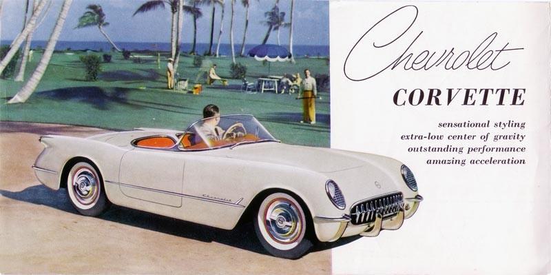 Chevrolet Corvette 1953 (fot. ameshistory.com)