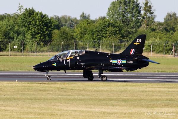 Należące do RAF samoloty BEA Hawk