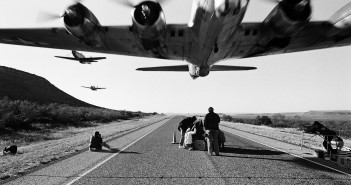 B-17 podczas prac nad akcją Don't Mess with Texas