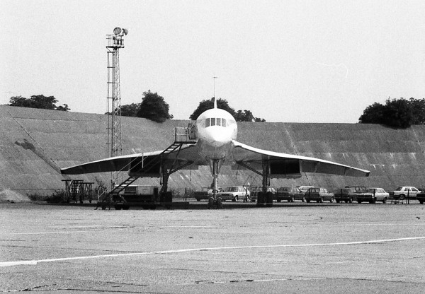 Concorde na lotnisku Heathrow (fot. Barry Lewis)
