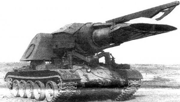 Odrzutowy czołg do niszczenia min - Progrew-T