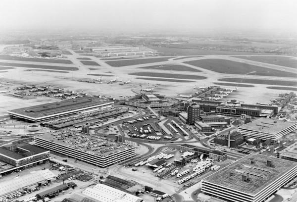 Heathrow w latach 60-tych