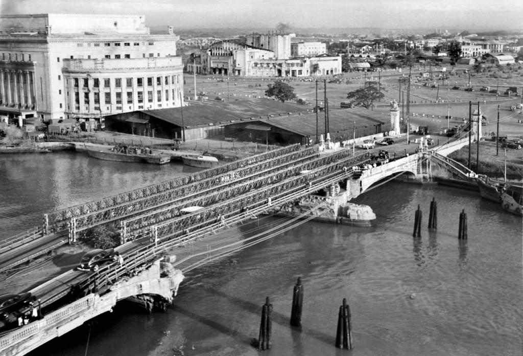 Most Baileya w Manili na Filipinach w 1947 roku