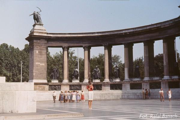 Plac Bohaterów w Budapeszcie (fot. Rafał Banach)