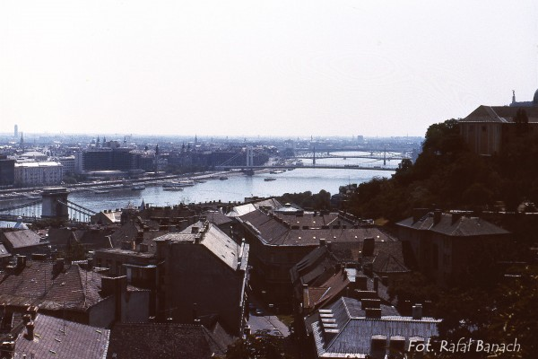 Widok na południową część Budapesztu (fot. Rafał Banach)