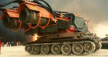 Big Wind - odrzutowy czołg gaśniczy