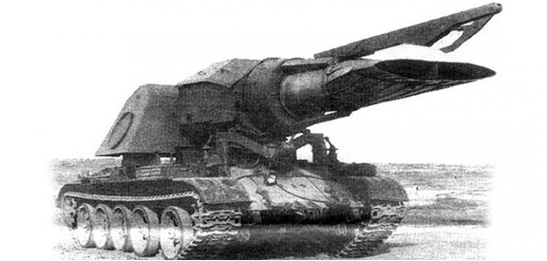 Odrzutowy czołg do niszczenia min