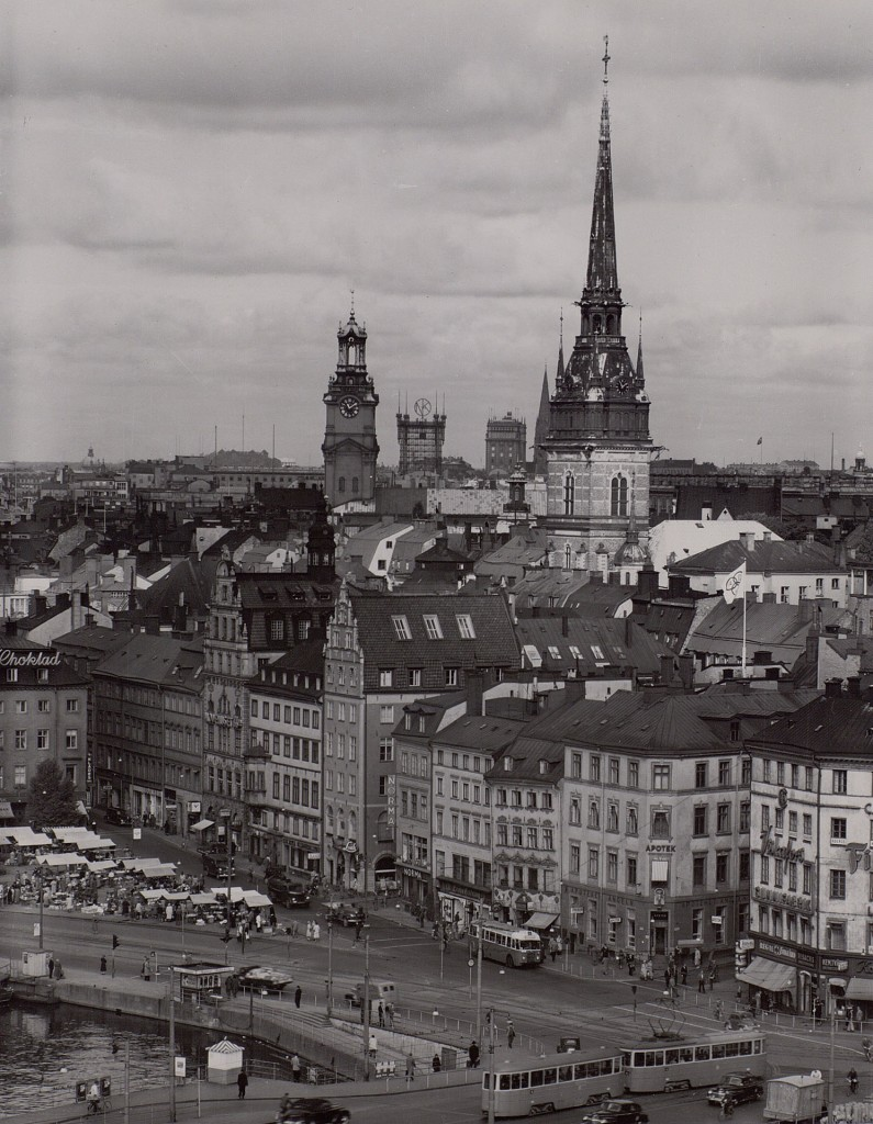 Telefontornet w latach 50. (fot. Teknlska museet)