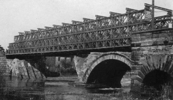 Most Baileya w konfiguracji Triple - o zwiększonym udźwigu