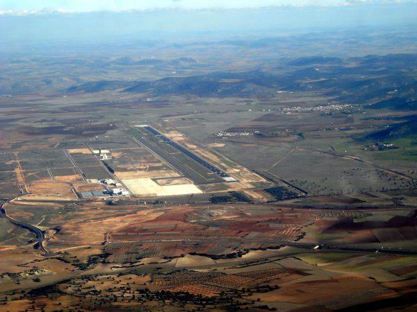 Port lotniczy Ciudad Real w 2008 roku (fot.  Jmiguel Rodriguez)