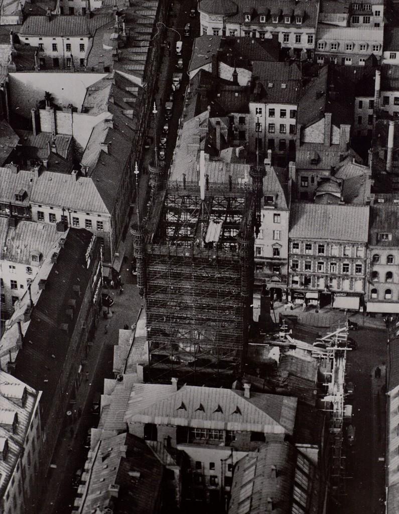 Telefontornet w latach 40. (fot. Teknlska museet)