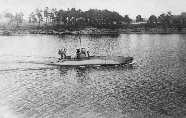 Kiełb - jeden z okrętów typu Som