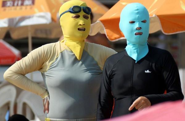 Typowo chiński strój plażowy (fot. npr.org)