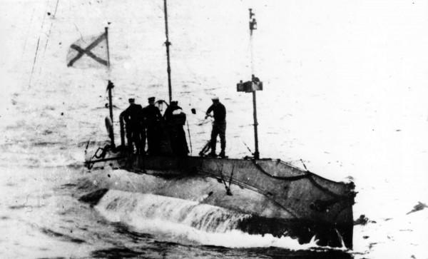Sterlet - jeden z okrętów typu Som