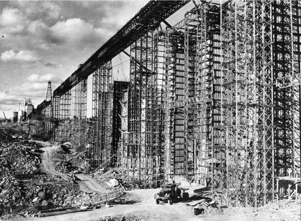 Nietypowy Most Baileya zbudowany w Kanadzie po wojnie