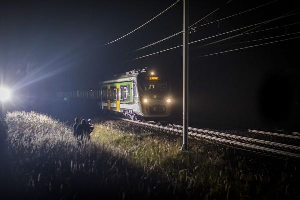 EZK Impuls podczas rekordowego przejazdu (fot. Newag)