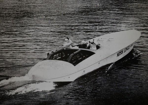Łódź motorowa Miss England II za sterami której zginął Henry Segrave