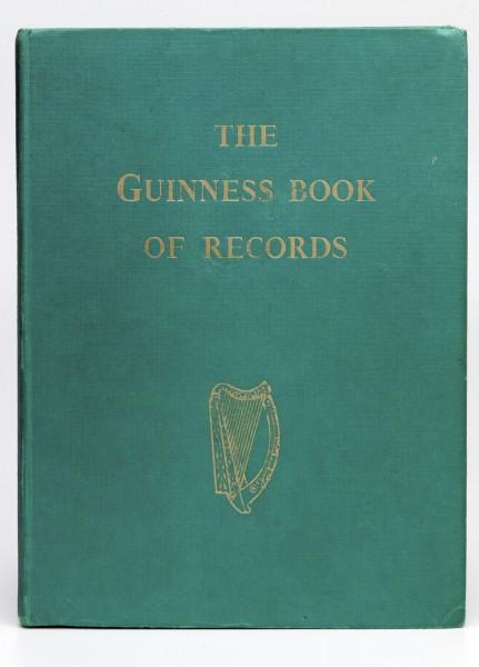 Pierwsze wydanie Księgi rekordów Guinnessa