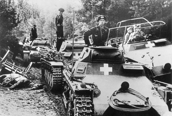 Niemieckie czołgi PzKpfw I miały porównywalne parametry do polskich tankietek TK i TKS