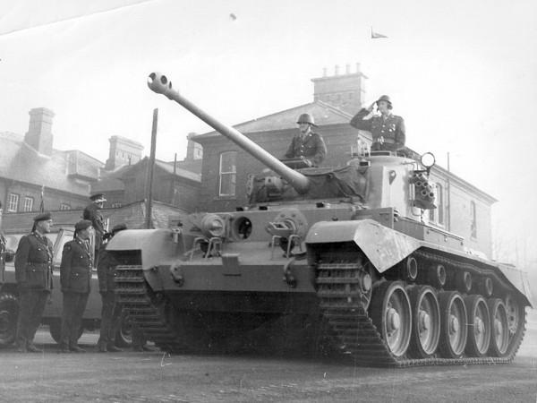 A34 Comet po wojnie