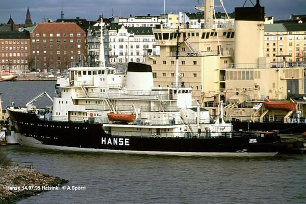 Lodołamacz Hanse w 1995 roku