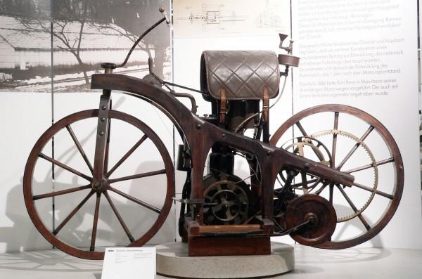 Replika Reitwagena w Muzeum
