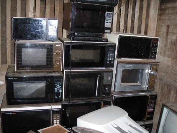 Różne mikrofalówki min. z lat 80-tych